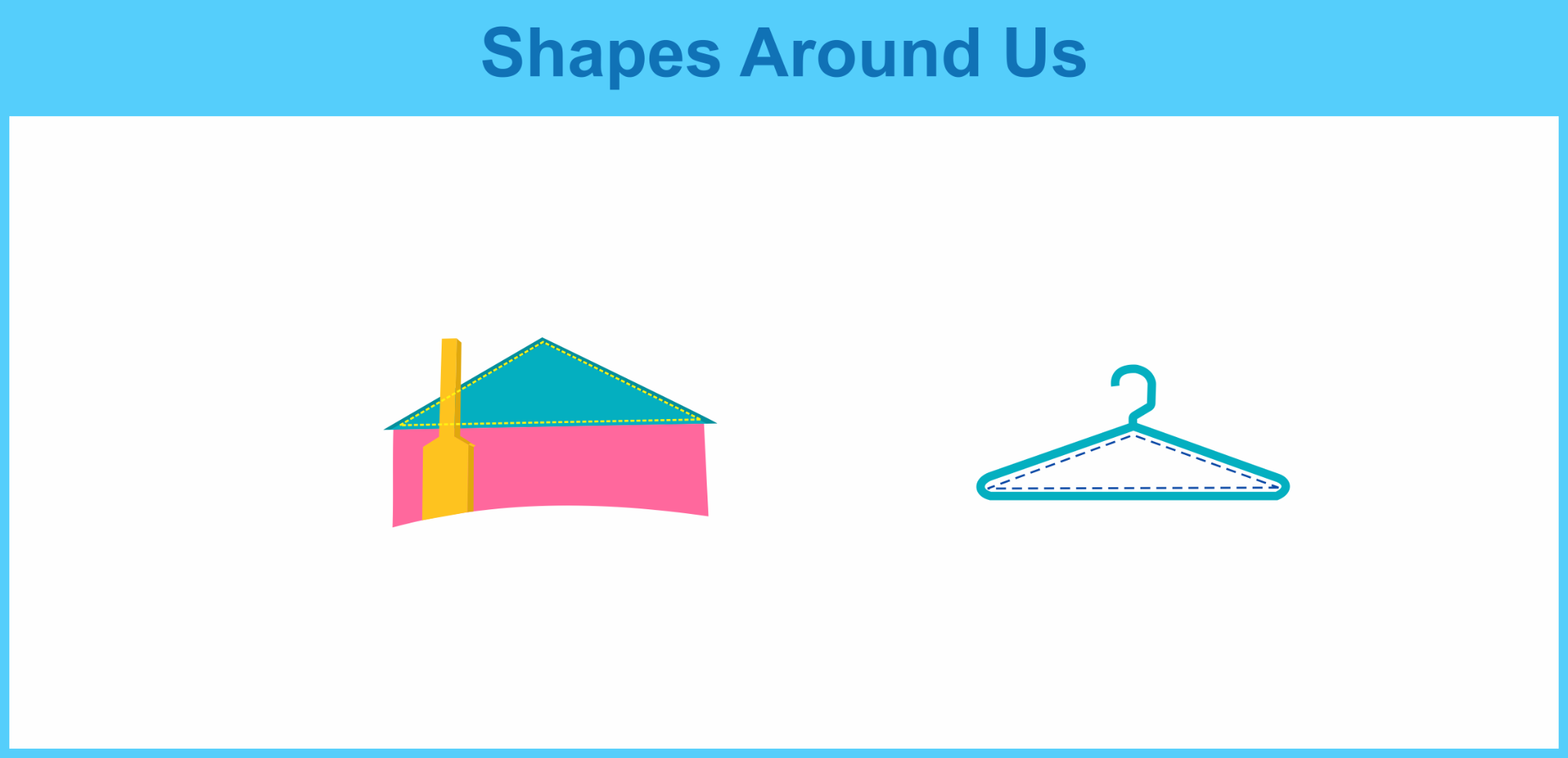 obtuse triangle shapes around us