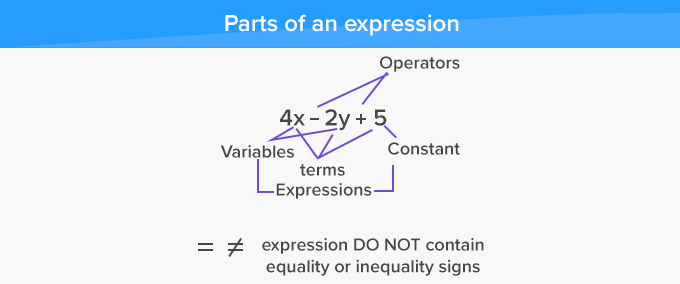 parts of expression