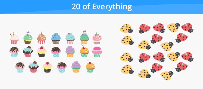 twenty things around us