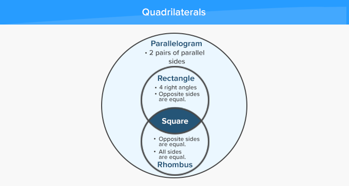 Types of Quadrilaterals - Relativity