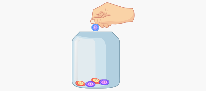 Strategy of counting – Counting on forward objects counters