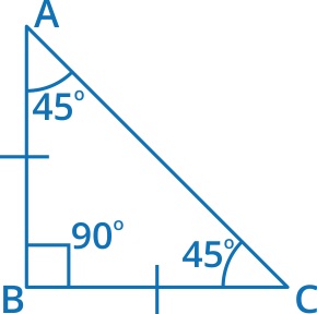isosceles triangle example 2
