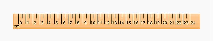centimeter scale