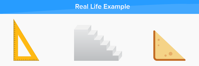 right triangle real life examples