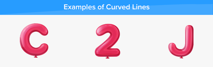 curved lines examples