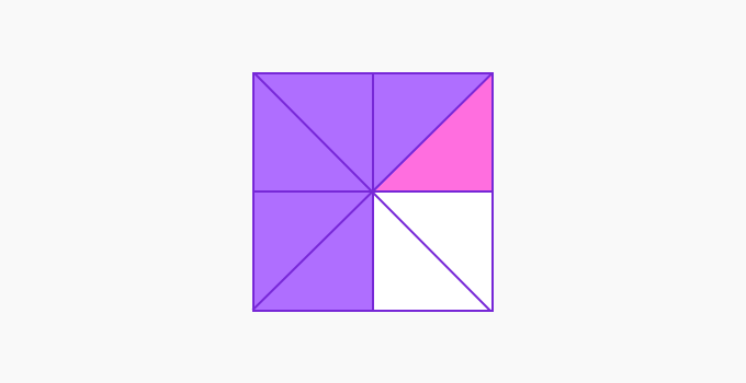 divided square equally
