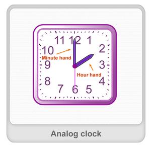 Analog clock Worksheet