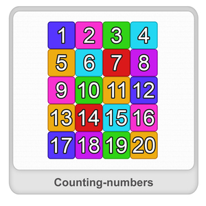 Counting number Worksheet