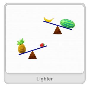 Lighter Worksheet