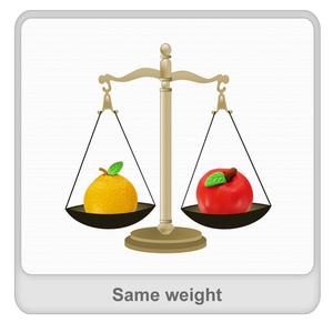 Same weight Worksheet