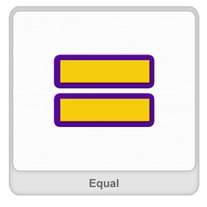 Equal sign Worksheet