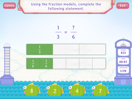 Equivalent Fractions Using Models