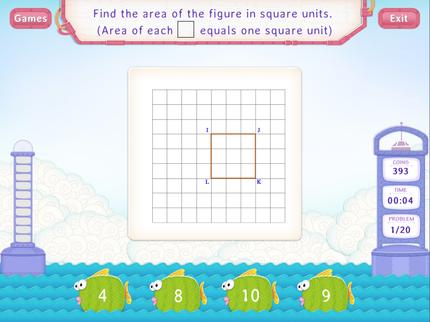 Area Of Simple Figures