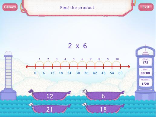 Multiply by 6 Worksheet