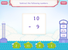 Subtract 9