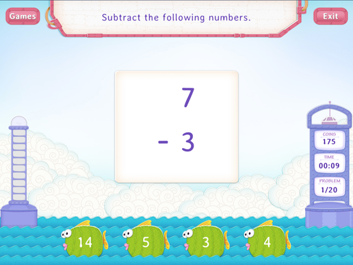 Subtract 3 Worksheet